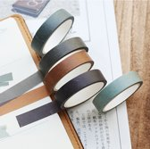 Set van 5 verschillende rolletjes Washi Tape Forest| Masking Tape
