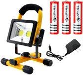 HA-MA RH-01 Oplaadbare draadloze LED werklamp 30W - drie standen
