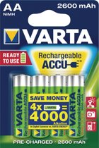 Varta AA Oplaadbare Batterijen - Ready2use 2600mAh