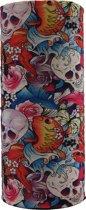 Faceshield - Nekwarmer - One size - Skull Paradise