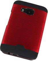 HTC One M9 Rood | Lichte Aluminium Hardcase  | WN™