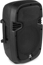 Accu speaker - Vonyx SPJ-PA908 mobiele accu speaker met Bluetooth, mp3 speler en draadloze microfoon