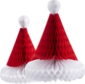 Ginger Ray Honeycomb kerstmuts - Set-2