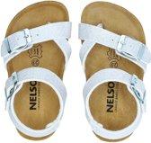 Nelson Kids meisjes sandaal - Zilver - Maat 23
