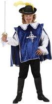 """""""Blauw musketier pak voor kinderen - Kinderkostuums - 140/152"""""""
