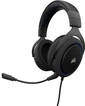 Corsair HS50 - Gaming Headset - Blauw  - PS4 + Xbox One + PC + Switch