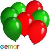 30x ballonnen Portugese kleuren (Ook geschikt voor Helium)