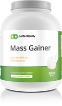 Mass Gainer - 3000 Gram - Aardbei - PerfectBody.nl