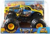 Hot Wheels monster jam truck Skeleton Crew - schaal 1:24