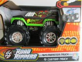 Monster truck custom truck groen