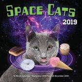 Space cats 2019 : 16-month calendar
