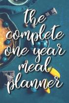 The Complete One Year Meal Planner