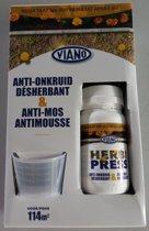 Herbi press 0,25 L - tegen mos en onkruid