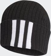 adidas 3S Woolie Heren Muts - Black/White/Black