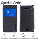 Nillkin Leather Case Sony Xperia E4g - Sparkle Series - Black