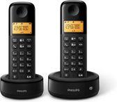 Philips D1352 - Duo DECT telefoon - Zwart