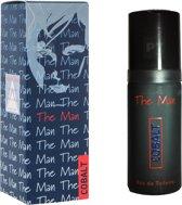 4 x Cobalt The Man - Eau de Toilette - 50ml - Milton Lloyd - Heren