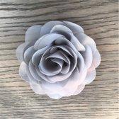 Leuke bloem (roos) op Clip - Grijs