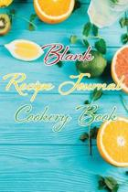 Blank Recipe Journal Cookery Book