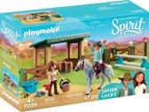 Afbeelding van PLAYMOBIL Arena met Lucky en Javier - 70119 speelgoed