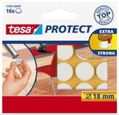 Tesa - 57892 - beschermvilt - wit - rond - ø 18mm