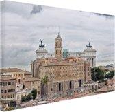 Het oude Rome Canvas 30x20 cm - Foto print op Canvas schilderij (Wanddecoratie)