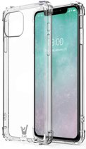 iPhone 11 Hoesje - Transparant Shock Proof Siliconen Case
