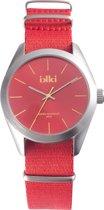 IKKI Fashion Pete - Horloge - 45 mm - Rood