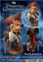 Merchandising Pirate Of The Caribbean : Jack Sparrow Mickey Mouse VCD
