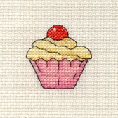 Mini Borduurpakketje Cupcake - Mouseloft