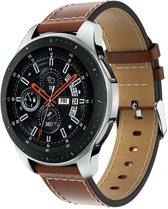 f7787497cc010e PU Lederen Horloge Band Voor Samsung Galaxy Watch 46 MM - Armband Polsband  / Strap /