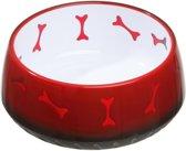 Flamingo Voerbak Bone - Rood - 1000ml