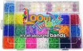 Loom Twister Loombox 2000 + 500 gratis Loombandjes Multicolor