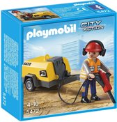 Playmobil Werkman met drilboor 5472