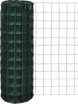 vidaXL Euro gaas 25 x 1.5 m / maaswijdte 76 x 63 mm