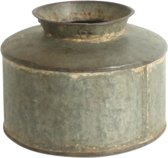 One World Interiors Pot - Vintage - 30x25cm - Metaal