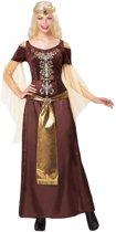 Viking koningin kostuum voor vrouwen - Verkleedkleding - S