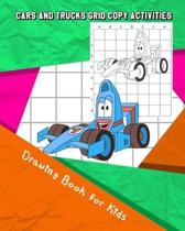 Cars and Trucks Grid Copy Activities