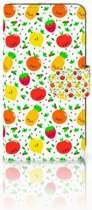 Motorola Moto C Plus Boekhoesje Design Fruits