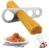 Spaghettimaat - RVS - Pasta afmeten - Spaghetti maat / meter - Verdeler - Spaghettimaatje - Spaghettimeter - Universeel