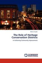The Role of Heritage Conservation Districts