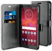 BeHello Motorola Moto Z3 Play Wallet Case Black
