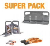 Stayhold   Super Pack   Kofferbakorganizer set
