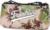 Etui Franklin & Marshall Girls pink 10x21x6 cm
