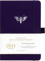Archer & Olive Notitieboek A5 Dotted - Midnight Moth