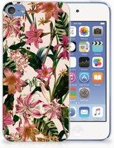Apple iPod Touch 5 | 6 Uniek TPU Hoesje Flowers