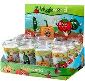 Veggieworld Grote Groenten Kweekset - 3 x 4 Verschillende Groentesoorten - In Veggieworld doos