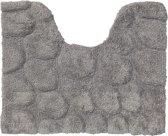 Sealskin Pebbles - Toiletmat - 50x60 cm - Grijs