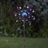 Windspinner solar Venti - Ø 38 x 130 cm