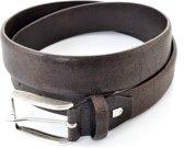 Profuomo Herenriem Pantalon PP0R300007 - Bruin - 115 cm